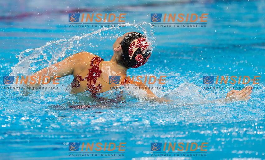 CERRUTI Linda ITA ITALY bronze medal<br /> London, Queen Elizabeth II Olympic Park Pool <br /> LEN 2016 European Aquatics Elite Championships <br /> Synchro<br /> Solo Technical final <br /> Day 04 12-05-2016<br /> Photo Giorgio Perottino/Deepbluemedia/Insidefoto