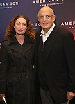 Jeffrey Tambor and daughter attends the Broadway Opening Night of 'AMERICAN SON' at the Booth Theatre on November 4, 2018 in New York City.