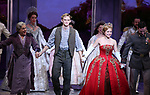 "Judy Kaye, Christy Altomare and Max von Essen with Cody Simpson making his Broadway Debut Bows in ""Anastasia"" at the Broadhurst Theatre on November 29, 2018 in New York City."