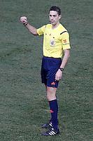 Spanish referee Vicandi Garrido during La Liga match.January 24,2015. (ALTERPHOTOS/Acero) /NortePhoto<br /> NortePhoto.com