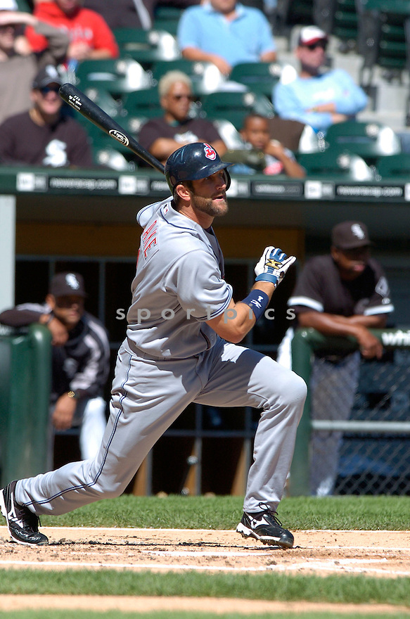 CASEY BLAKE, of the Cleveland Indians , in action during the Indians game against the  Chicago White Sox  in Chicago, IL on September 12, 2007...White Sox win 7-4..DAVID DUROCHIK / SPORTPICS.....