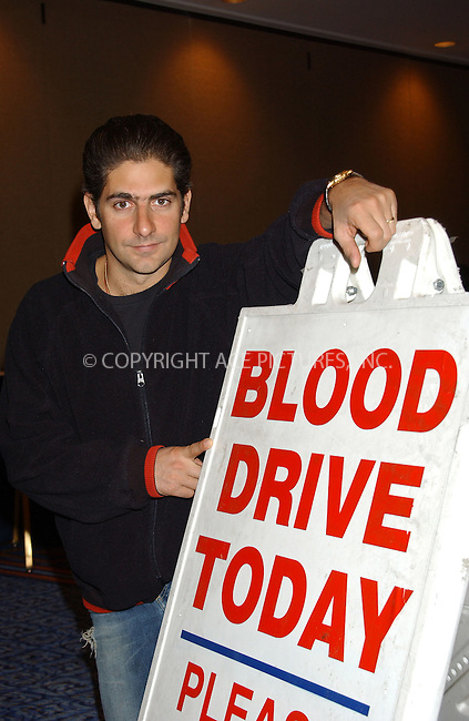 WWW.ACEPIXS.COM . . . . . ....NEW YORK, DECEMBER 21, 2004....Michael Imperioli hosts a community blood drive at the Marriott Marquis Hotel.....Please byline: ACE006 - ACE PICTURES.. . . . . . ..Ace Pictures, Inc:  ..Alecsey Boldeskul (646) 267-6913 ..Philip Vaughan (646) 769-0430..e-mail: info@acepixs.com..web: http://www.acepixs.com