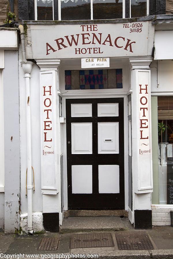 Arwenack Hotel, Falmouth, Cornwall, England, UK