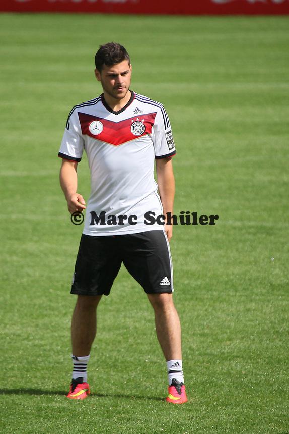 Kevin Volland - Training der Deutschen Nationalmannschaft  zur WM-Vorbereitung in St. Martin
