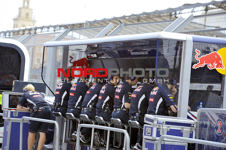 22.-24.06.2012, Valencia-Street-Circuit, Silverstone, ESP, Gro&szlig;er Preis von Europa, Valencia, RACE 08, im Bild Red Bull Racing <br />  Foto &copy; nph / Mathis