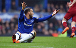 Cenk Tosun of Everton during the premier league match at Goodison Park Stadium, Liverpool. Picture date 7th April 2018. Picture credit should read: Robin Parker/Sportimage