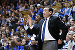 11 November 2016: Duke head coach Mike Krzyzewski. The Duke University Blue Devils hosted the Marist College Red Foxes at Cameron Indoor Stadium in Durham, North Carolina in a 2016-17 NCAA Division I Men's Basketball game. Duke won the game 94-49.