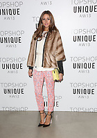 Olivia Palermo arrives at the Unique show as part of London Fashion Week AW13, Tate Modern, London. 17/02/2013 Picture by: Henry Harris / Featureflash