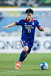Suwon Midfielder Kim Minwoo in action during the AFC Champions League 2017 Group G match between Suwon Samsung Bluewings (KOR) vs Kawasaki Frontale (JPN) at the Suwon World Cup Stadium on 25 April 2017, in Suwon, South Korea. Photo by Yu Chun Christopher Wong / Power Sport Images