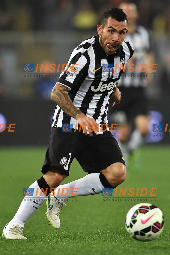 Carlos Tevez Juventus <br /> Roma 02-03-2015 Stadio Olimpico Football Calcio Serie A AS Roma - Juventus. Foto Andrea Staccioli / Insidefoto