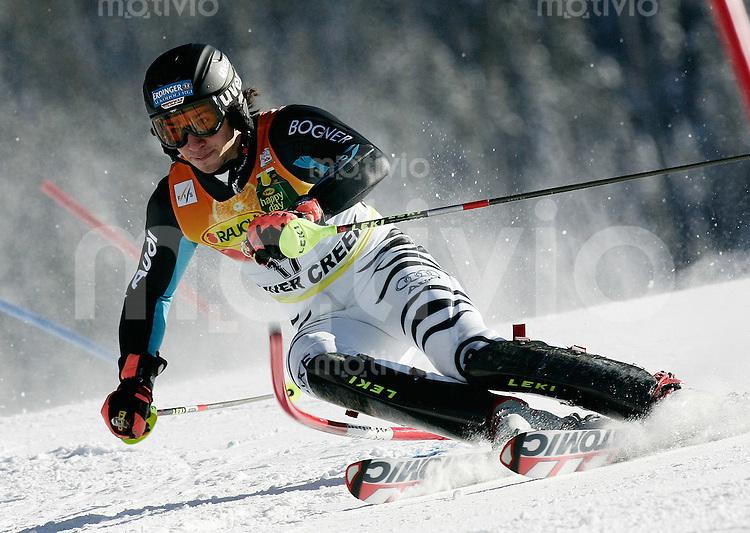 Ski Alpin; Saison 2006/2007  Slalom Herren Felix Neureuther (GER) belegt Platz 3.