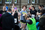 © Joel Goodman - 07973 332324 . 20/09/2015 . Stockport , UK . Before the race . The Big Stockport run from St Petersage in Stockport Town Centre . Photo credit : Joel Goodman
