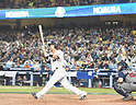 Sho Nakata (JPN),<br /> MARCH 21, 2017 - WBC :<br /> Sho Nakata of Japan bats during the 2017 World Baseball Classic Semifinal game between United States 2-1 Japan at Dodger Stadium in Los Angeles, California, United States. (Photo by AFLO)