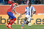 Atletico de Madrid's Jose Maria Gimenez (l) and Real Sociedad's Bruma during La Liga match. March 1,2016. (ALTERPHOTOS/Acero)