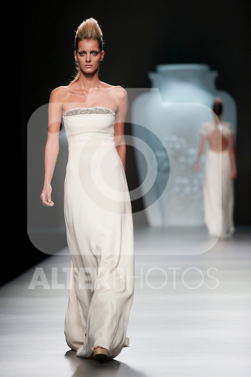 Mercedes Benz Fashion Week Madrid. Fashion show of Ana Locking on September 2th 2012...Photo: (ALTERPHOTOS/Ricky)