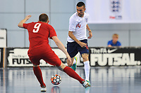 Guillermo Wallace of England controls the ball during England vs Poland, International Futsal Friendly at St George's Park on 2nd June 2018