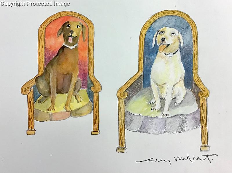 Example Pets Watercolor<br /> 11x14