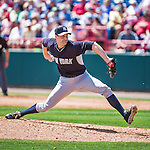 11 March 2014: New York Yankees pitcher Matt Daley on the mound during a Spring Training game against the Washington Nationals at Space Coast Stadium in Viera, Florida. The Nationals defeated the Yankees 3-2 in Grapefruit League play. Mandatory Credit: Ed Wolfstein Photo *** RAW (NEF) Image File Available ***