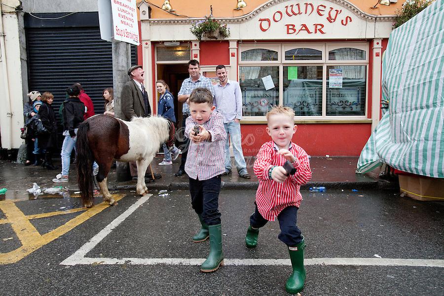 Ballinasloe Horse Fair 2010 | Sydney Photographer James ...
