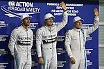 Lewis Hamilton (GBR), Mercedes GP - Nico Rosberg (GER), Mercedes GP - Valtteri Bottas (FIN), Williams F1 Team<br />  Foto &copy; nph / Mathis