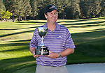 August 5, 2012:  J.J. Henry from Ft. Worth, TX with the trophy after winning the 2012 Reno-Tahoe Open Golf Tournament at Montreux Golf & Country Club in Reno, Nevada.