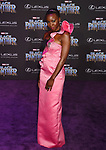 HOLLYWOOD, CA - JANUARY 29: Actor Danai Gurira attends the premiere of Disney and Marvel's 'Black Panther' at  the Dolby Theater on January 28, 2018 in Hollywood, California.