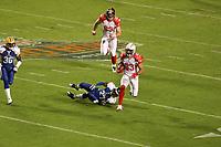 Vincent Jackson (AFC) setzt sich durch<br /> AFC vs. NFC Pro Bowl, Sun Life Stadium *** Local Caption *** Foto ist honorarpflichtig! zzgl. gesetzl. MwSt. Auf Anfrage in hoeherer Qualitaet/Aufloesung. Belegexemplar an: Marc Schueler, Alte Weinstrasse 1, 61352 Bad Homburg, Tel. +49 (0) 151 11 65 49 88, www.gameday-mediaservices.de. Email: marc.schueler@gameday-mediaservices.de, Bankverbindung: Volksbank Bergstrasse, Kto.: 151297, BLZ: 50960101