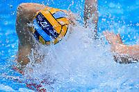 K7 ball <br />  <br /> Budapest 13/01/2020 Duna Arena <br /> GERMANY (white caps) Vs. NETHERLANDS (blue caps)<br /> XXXIV LEN European Water Polo Championships 2020<br /> Photo  © Andrea Staccioli / Deepbluemedia / Insidefoto