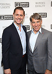 "Michael McCorry Rose and Stephen Schwartz attends the Opening Night of The Gingold Theatrical Group production of Bernard Shaw's ""Caesar & Cleopatra"" at Theatre Row Theatre on September 24, 2019 in New York City."