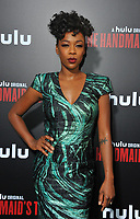 www.acepixs.com<br /> <br /> April 25 2017, LA<br /> <br /> Samira Wiley arriving at the premiere of  'The Handmaid's Tale' at the ArcLight Cinemas Cinerama Dome on April 25, 2017 in Hollywood, California.<br /> <br /> By Line: Peter West/ACE Pictures<br /> <br /> <br /> ACE Pictures Inc<br /> Tel: 6467670430<br /> Email: info@acepixs.com<br /> www.acepixs.com