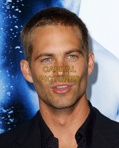PAUL WALKER.Premiere of Into The Blue held at The Mann's Village Theatre in Westwood, California .September 21st, 2005.Ref: DVS.headshot portrait.www.capitalpictures.com.sales@capitalpictures.com.Supplied By Capital PIctures