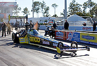 15-17 January, 2014, Jupiter, Florida USA, Richie Crampton, Geico, Lucas Oil, top fuel dragster @2014, Guy Rhodes