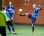 Dean Shiels and Nicky Clark