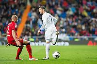 Cristiano's back heel