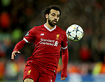 Mohamed Salah of Liverpool during the Champions League Semi Final 1st Leg match at Anfield Stadium, Liverpool. Picture date: 24th April 2018. Picture credit should read: Simon Bellis/Sportimage