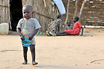 Two year old Abdulbasid lives in a camp for internally displaced persons outside Kubum, in South Darfur.