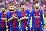52e Trofeu Joan Gamper.<br /> FC Barcelona vs Chapecoense: 5-0.<br /> Jordi Alba, Aleix Vidal, Ivan Rakitic, Sergio Busquets &amp; Gerard Pique.