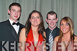 BALL: Having a great night out at the Kerry Farmers Hunt Club gala ball on Saturday night were l-r: Martin Leahy (Killorglin), Tina Healy (Faha), John O'Sullivan (Cordal) and Deirdre Cronin (Currow).   Copyright Kerry's Eye 2008