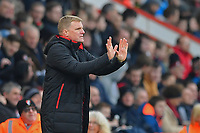 AFC Bournemouth Manager Eddie Howe during AFC Bournemouth vs Arsenal, Premier League Football at the Vitality Stadium on 14th January 2018