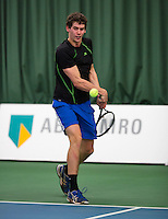 18-01-14,Netherlands, Rotterdam,  TC Victoria, Wildcard Tournament,  Tom Smit (NED)    <br /> Photo: Henk Koster