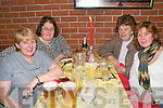 Celebrating Women's Christmas at Casa Mia's Restaurant, Listowel on Friday night last were Nora, Patricia, Marie & Collette Foran, Listowel.