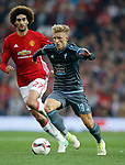 Daniel Wass of Celta Vigo during the Europa League Semi Final 2nd Leg match at Old Trafford Stadium, Manchester. Picture date: May 11th 2017. Pic credit should read: Simon Bellis/Sportimage
