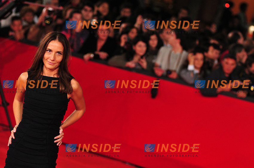 Third edition of the Rome International film festival<br /> Maria Sole Tognazzi<br /> Roma 23/10/2008 <br /> Red Carpet 'L'uomo che ama'<br /> Photo &copy; Luca Cavallari Insidefoto