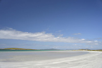 Sandy beach on North Uist, Outer Hebrides