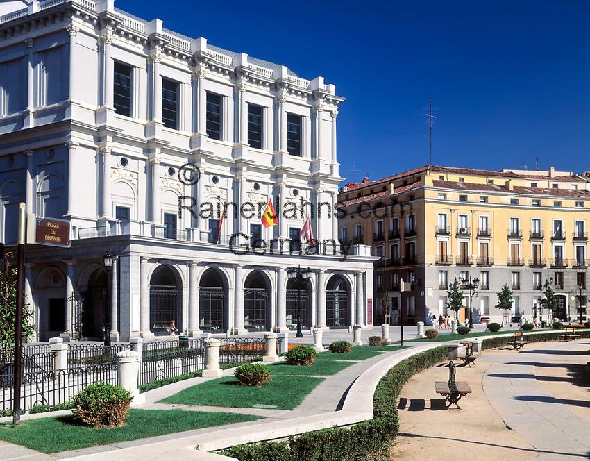Spanien, Kastilien, Madrid: Teatro Real (Opernhaus) | Spain, Castile, Madrid: Teatro Real (Opera House)
