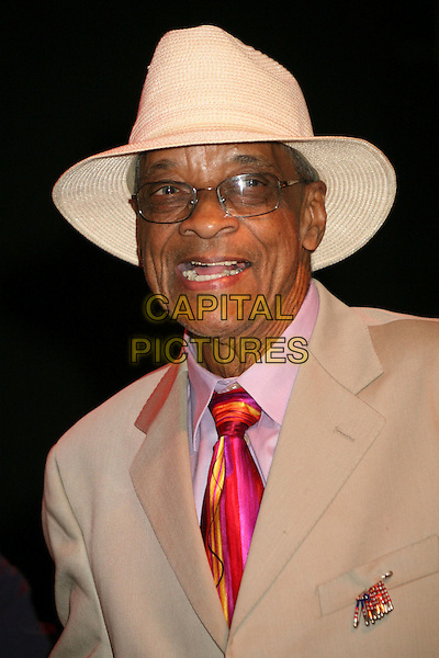 HUBERT SUMLIN .Hollywood RockWalk Induction of George Thorogood & The Destroyers, Keb' Mo' and Hubert Sumlin at the Henry Fonda Music Box Theatre, Hollywood, California, USA..June 16th, 2007.rock walk headshot portrait glasses pink tie .CAP/ADM/BP.©Byron Purvis/AdMedia/Capital Pictures