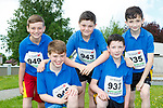 Cathal Sheehan, Eamon O'Mahony, Lee Normoyle, Joseph Cronin and Ben Conway who competed in the Currow Reader to 3k run on Friday