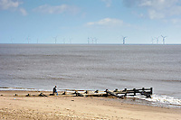Lynn and Inner Dowsing wind farm off Skegness, Lincolnshire