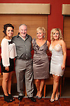 Anne McKeon with her daughters Megan and Jill and husband Tony at her birthday in Harry's...(Photo credit should read Jenny Matthews www.newsfile.ie)....This Picture has been sent you under the conditions enclosed by:.Newsfile Ltd..The Studio,.Millmount Abbey,.Drogheda,.Co Meath..Ireland..Tel: +353(0)41-9871240.Fax: +353(0)41-9871260.GSM: +353(0)86-2500958.email: pictures@newsfile.ie.www.newsfile.ie.