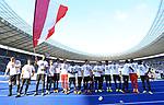 12.05.2018, OLympiastadion, Berlin, GER, 1.FBL, Hertha BSC VS. RB Leipzig, im Bild <br /> Leipziger Spieler bei Ihren Fan<br /> Naby Keita (RB Leipzig #8), Dominik Kaiser (RB Leipzig #24)<br /> <br />       <br /> Foto &copy; nordphoto / Engler